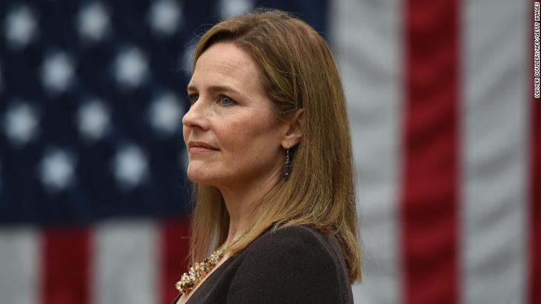 Judge Amy Coney Barrett is nominated to the US Supreme Court by President Donald Trump.
