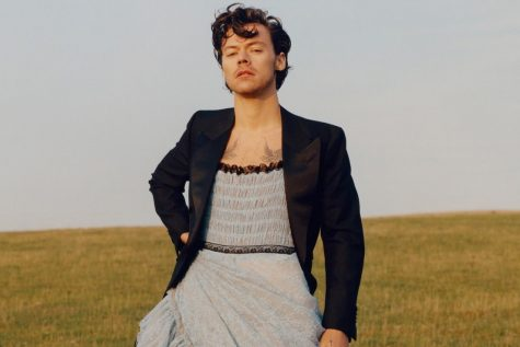 Harry Styles Makes History in Vogue
