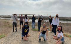 The Eco Leaders at the Beach Cleanup  Photo: Olivia Dalton