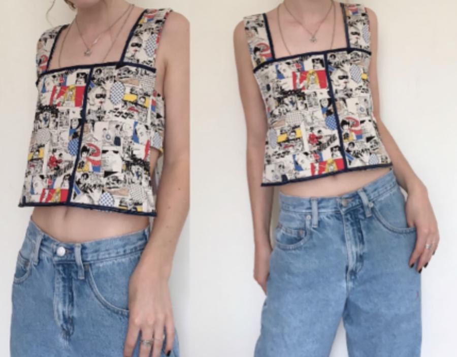 16 Year Old Fashion Designer Maggie Weible '22