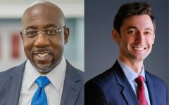 Georgia Senators Ossoff and Warnock